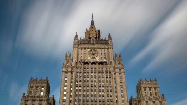 La sede del ministero degli Esteri della Russia - Sputnik Italia