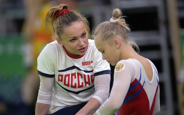 Allenamenti a Rio per le ginnaste russe - Sputnik Italia