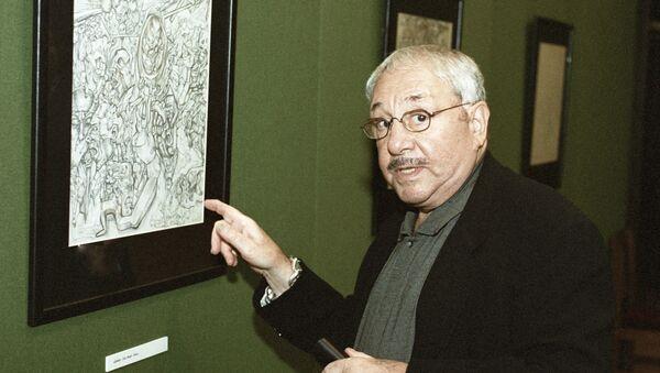 Скульптор и график Эрнст Неизвестный на выставке своих работ - Sputnik Italia