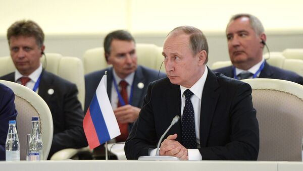 Vladimir Putin al vertice di Baku - Sputnik Italia