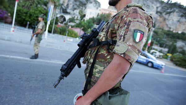 Militare italiano - Sputnik Italia