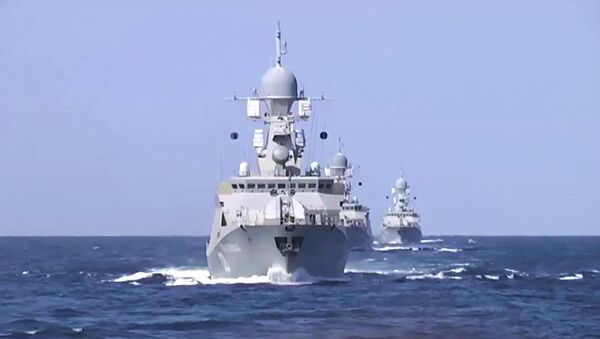 Flottiglia del Mar Caspio - Sputnik Italia