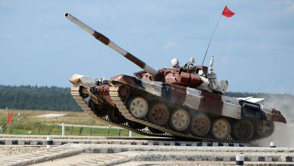 Il carro armato T-72B3 - Sputnik Italia