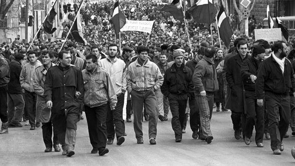 Manifestanti nell'URSS - Sputnik Italia