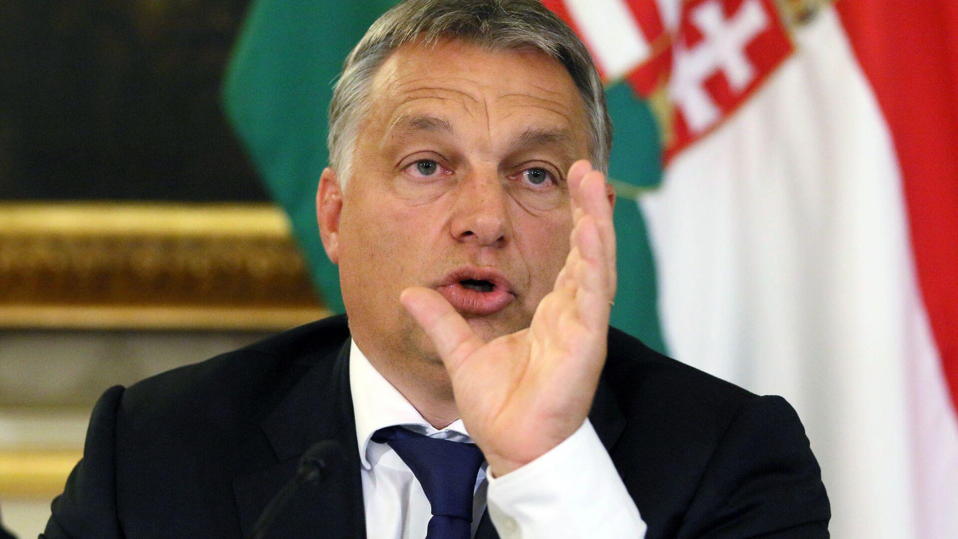Il premier ungherese Viktor Orban - Sputnik Italia, 1920, 29.09.2021