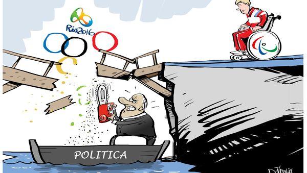 Russia non ammessa alle Paralimpiadi 2016 - Sputnik Italia