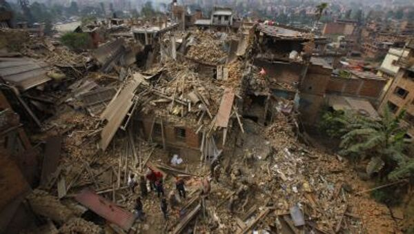 Nepal in rovine dopo terremoto - Sputnik Italia