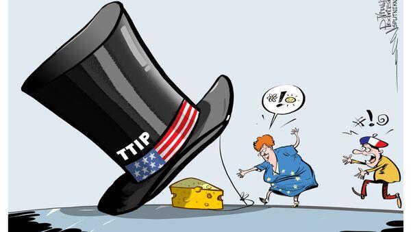 La Francia cercherà di interrompere le trattative per il TTIP alla Commissione europea - Sputnik Italia