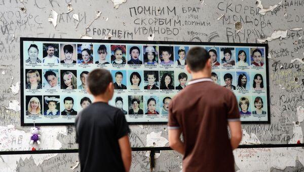 Commemorazione delle vittime della strage a Beslan - Sputnik Italia