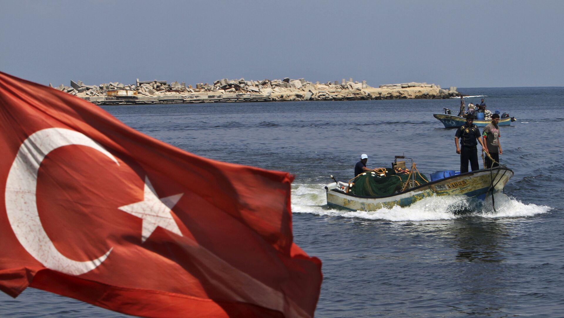 La bandiera della Turchia - Sputnik Italia, 1920, 04.04.2021