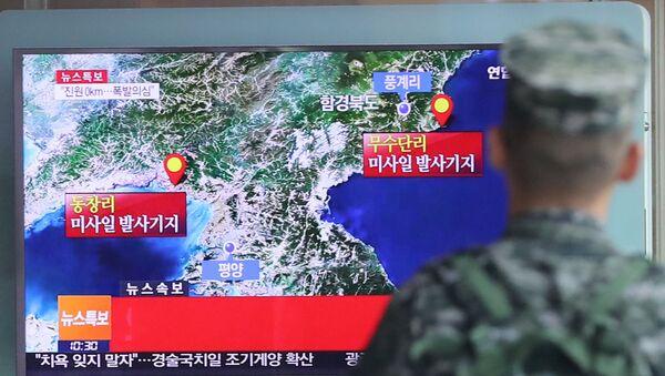 Il quinto test nucleare della Corea del Nord - Sputnik Italia
