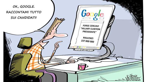 Come Google manipola le nostre idee - Sputnik Italia