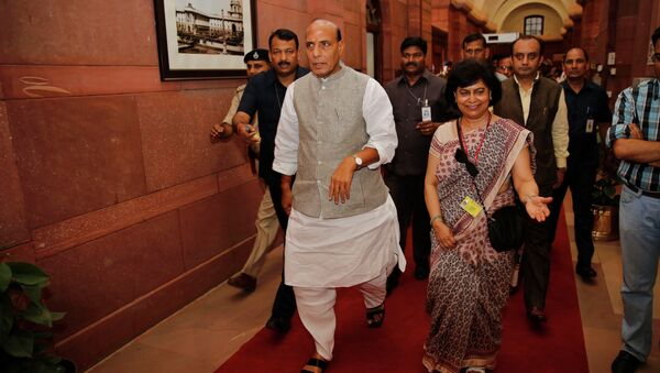 Ministro degli Interni indiano Rajnath Singh - Sputnik Italia
