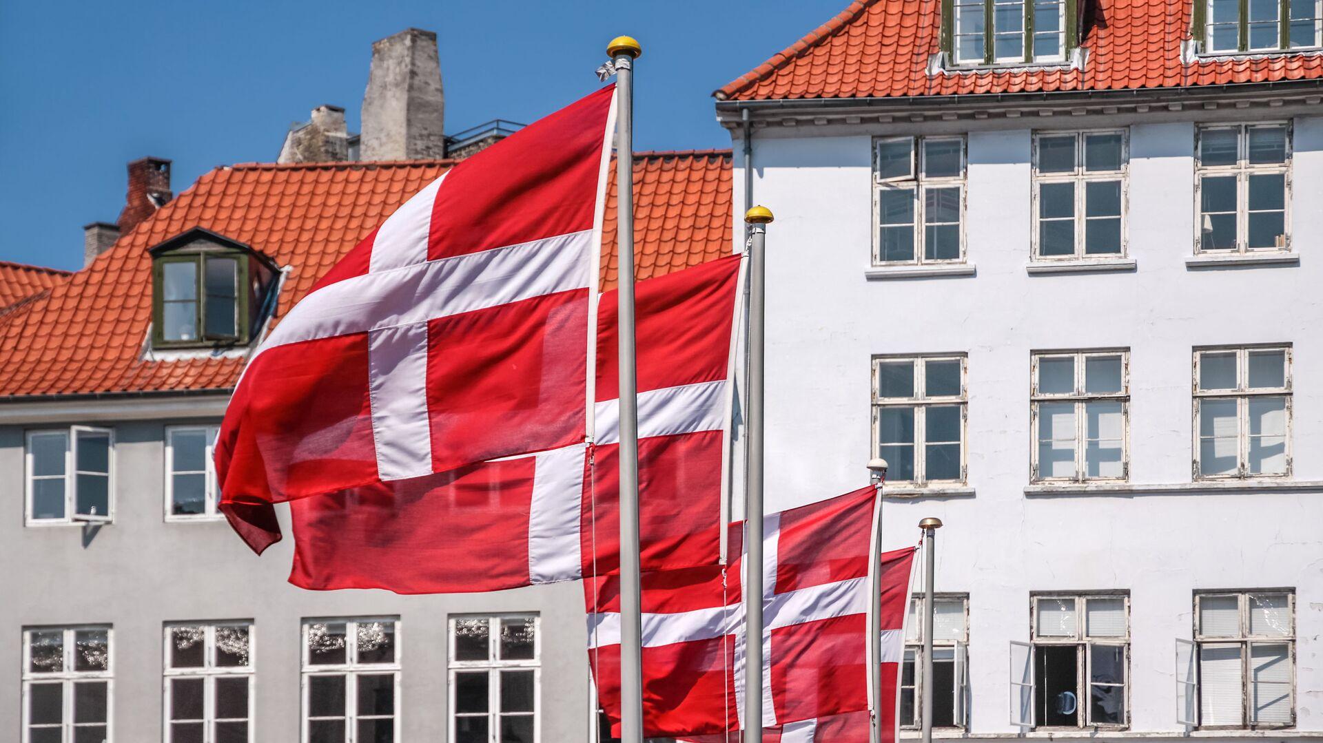 Bandiere della Danimarca - Sputnik Italia, 1920, 04.09.2021