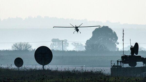 Drone israeliano decolla da base sulle Alture del Golan - Sputnik Italia