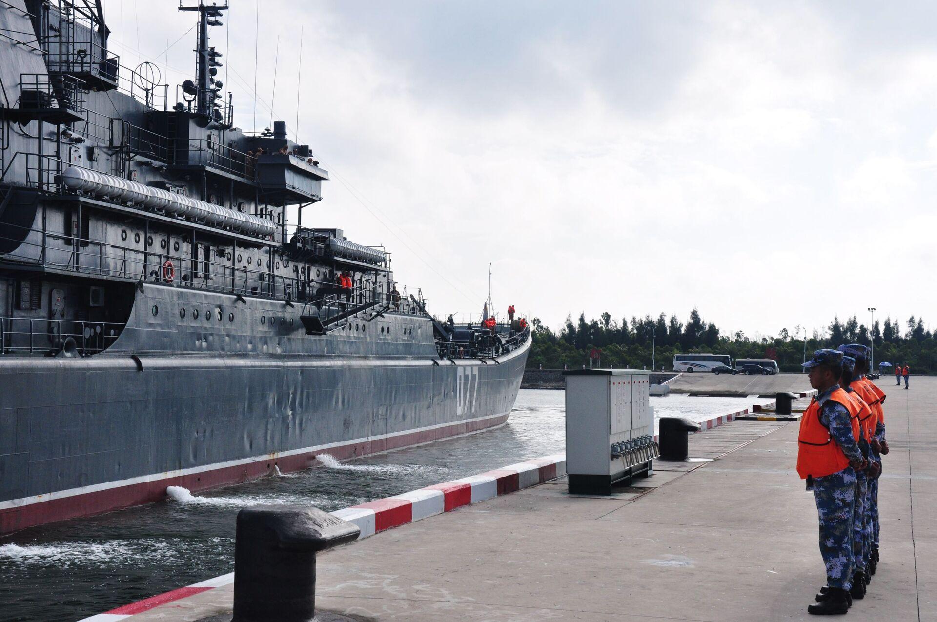 Российско-китайские учения Морское взаимодействие-2016 в Южно-Китайском море  - Sputnik Italia, 1920, 12.10.2021