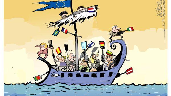 Problemi dell'UE - Sputnik Italia