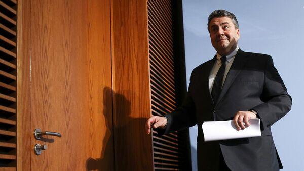 Ministro dell'economia tedesco Sigmar Gabriel - Sputnik Italia