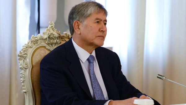 Il presidente del Kirghizistan Almazbek Atambayev - Sputnik Italia