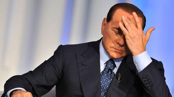 Silvio Berlusconi risponde alle accuse durante una puntata di Porta a Porta. - Sputnik Italia