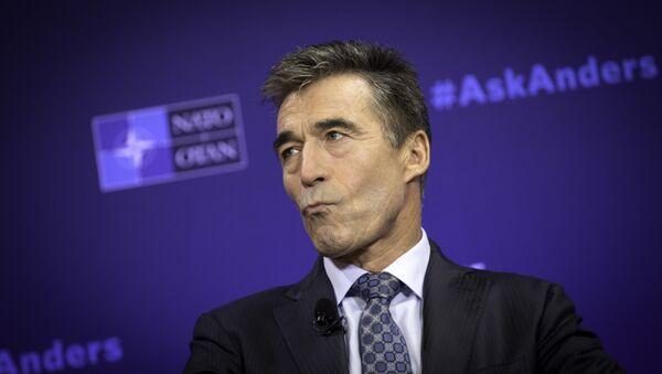 Ex secretario generale di NATO  Anders Fogh Rasmussen - Sputnik Italia