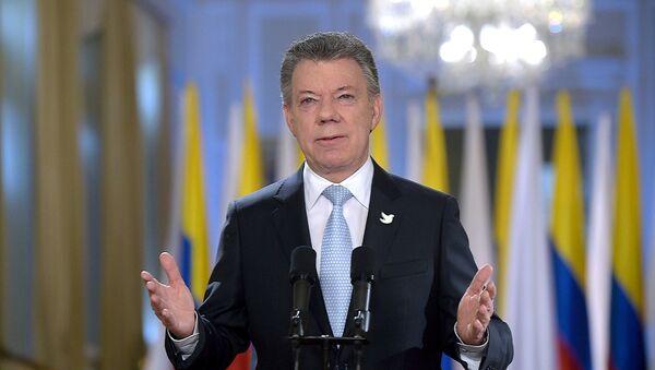 Il presidente della Colombia Juan Manuel Santos - Sputnik Italia