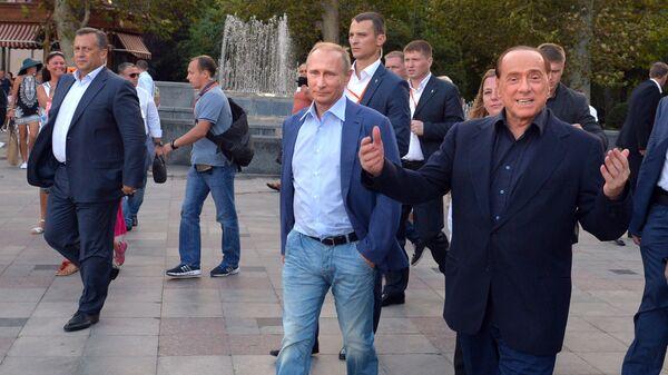 Putin e Berlusconi - Sputnik Italia
