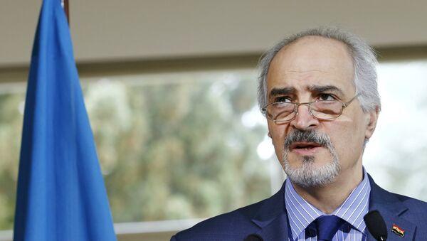 Rappresentante permanente della Siria all'ONU Bashar Jaafari - Sputnik Italia