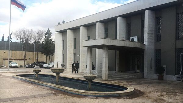Ambasciata della Russia in Siria - Sputnik Italia