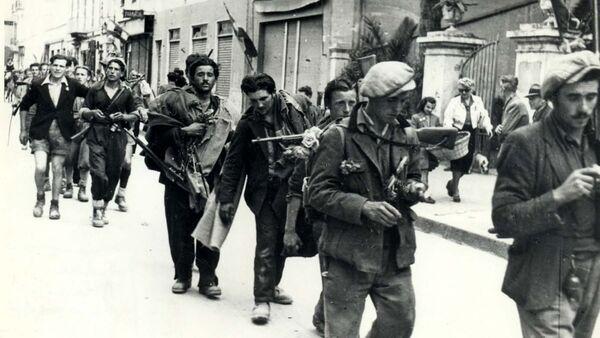 Partigiani. Taggia liberazione,brigata E.Guarrini - Sputnik Italia