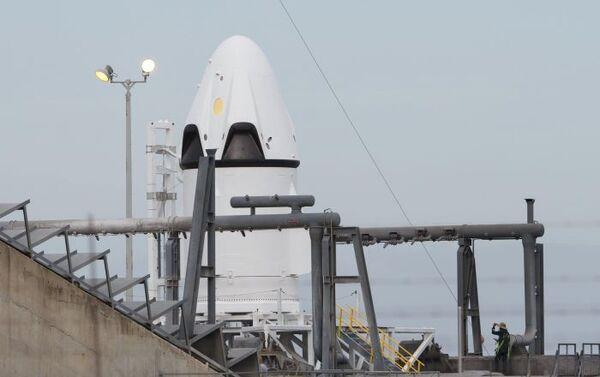Cape Canaveral, navetta SpaceX Dragon pronta per essere lanciata - Sputnik Italia