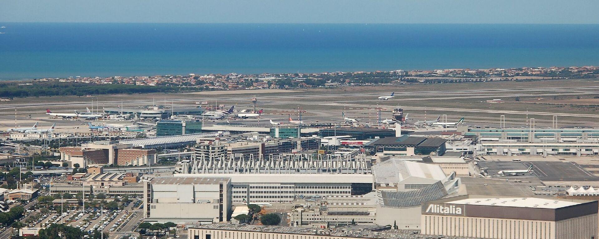 Aeroporto di Fiumicino - Sputnik Italia, 1920, 29.04.2021