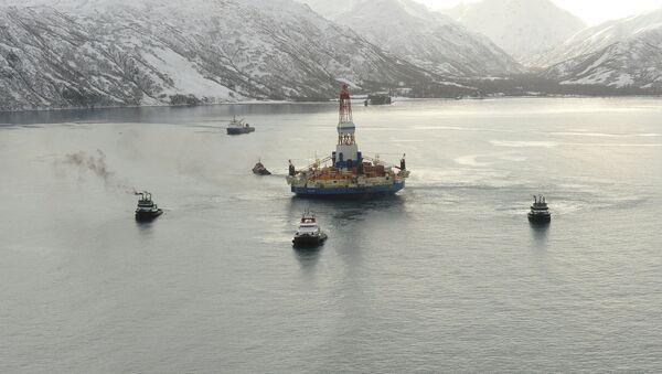Alaska, piattaforma petrolifera - Sputnik Italia