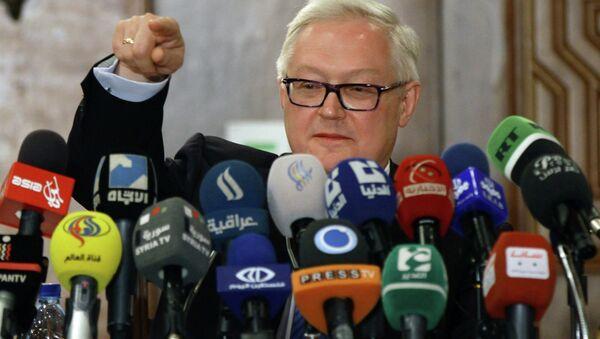 Viceministro degli Esteri russo Sergey Ryabkov - Sputnik Italia