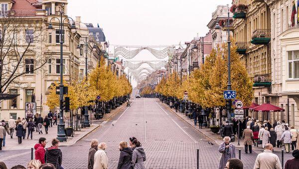 Una vista di Vilnius, la capitale lituana - Sputnik Italia