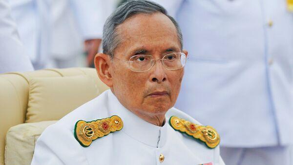 Il re deceduto Bhumibol Adulyadej - Sputnik Italia
