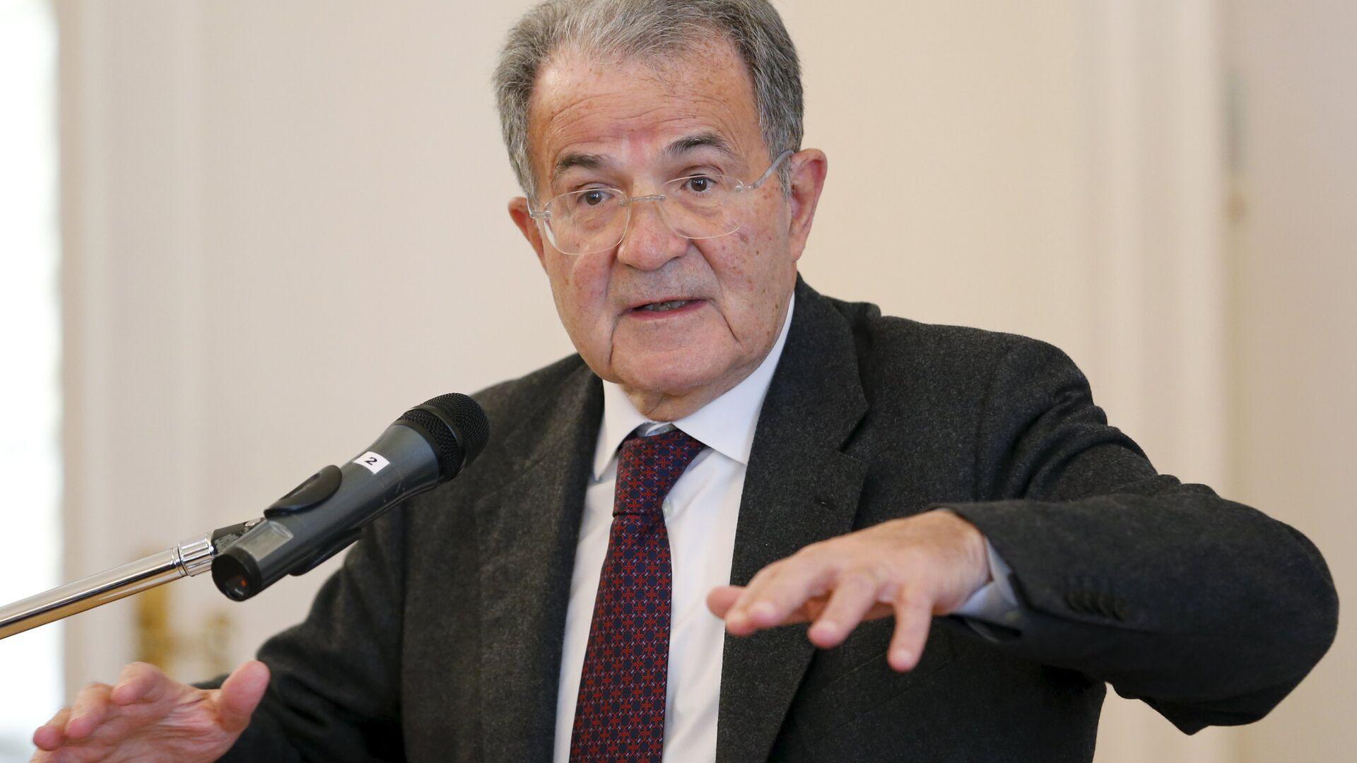Ex presidente del Consiglio italiano Romano Prodi - Sputnik Italia, 1920, 18.09.2021