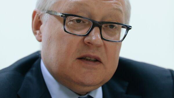 Vice Ministro delgi Esteri russo Sergey Ryabkov - Sputnik Italia