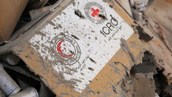 Croce Rossa e Mezzaluna Rossa, Aleppo, Siria - Sputnik Italia
