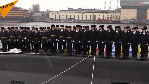 il sommergibile Velikiy Novgorod - Sputnik Italia