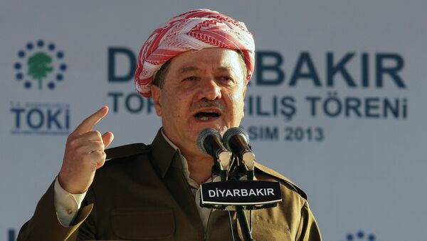 Masoud Barzani, il presidente del Kurdistan iracheno - Sputnik Italia