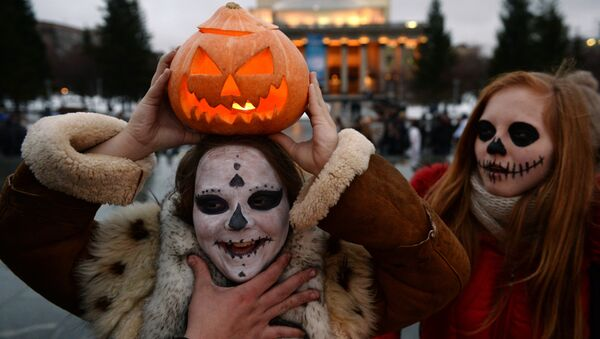 Halloween a Mosca - Sputnik Italia