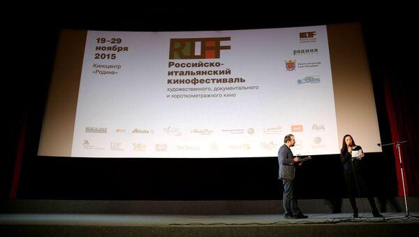 La presentazione dell'edizione 2015 del RIFF - Festival del Cinema Italo Russo - Sputnik Italia