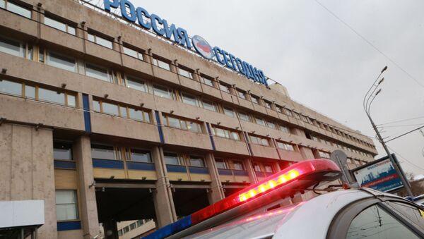 Полиция у центрального офиса МИА Россия сегодня - Sputnik Italia