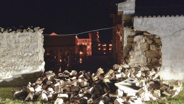 Conseguenze di un terremoto in Italia - Sputnik Italia