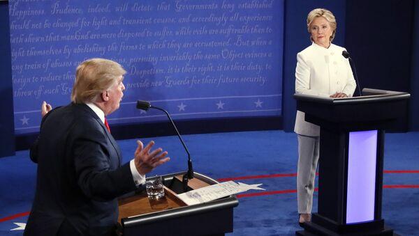 Dibattito tra Donald Trump e Hillary Clinton - Sputnik Italia