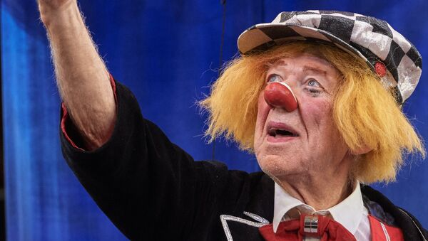 Il famoso clown russo Oleg Popov - Sputnik Italia