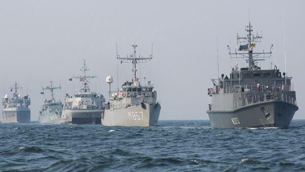 Flottiglia di cacciamine Nato - Sputnik Italia