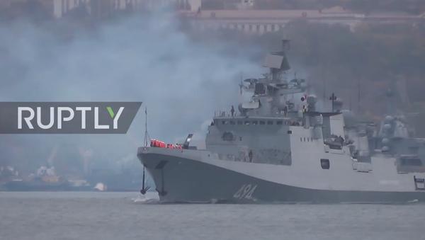 La fregata russa Admiral Grigorovich - Sputnik Italia