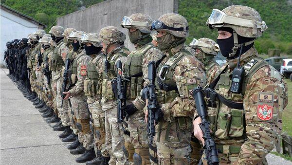 Forze speciali dell'esercito montenegrino - Sputnik Italia